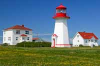 The lighthouse at Cap-d'Espoir